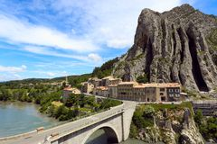 Sisteron Stock Images