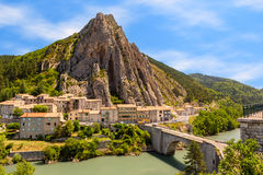 Sisteron in Provence, France Stock Photo