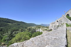 Sisteron Valley Royalty Free Stock Photography