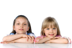 Sisters royalty free stock images