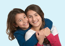 Sisters Stock Photo