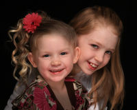 Sisters 2 Royalty Free Stock Photography