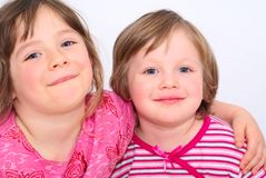 Sisters. Royalty Free Stock Photography