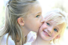 Sisters stock photography