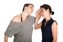 Sisters arguing Royalty Free Stock Photos