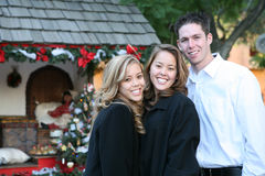 Sisters and Boyfriend Stock Image