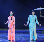 Sisters-The dance drama The legend of the Condor Heroes Royalty Free Stock Photos