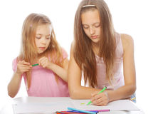 Sisters draw on the album Stock Image