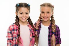 Sisters family look outfit. Dress similar with best friend. Dress to match your friend. Best friend dressing. Girls. Friends wear similar outfits have same royalty free stock image