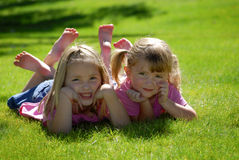 Sisters and Friends Royalty Free Stock Photos