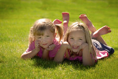 Sisters and Friends Royalty Free Stock Photography