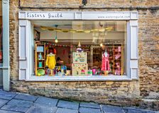 Sisters Guild shop front in Frome Stock Photo
