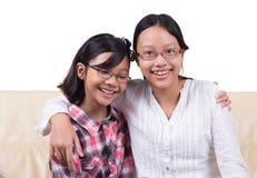 Sisters Having Fun II Royalty Free Stock Images