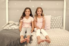 Sisters older or younger major factor in siblings having more positive emotions. Benefits having sister. Girls sisters. Spend pleasant time communicate in royalty free stock photography