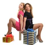 Sisters portrait Royalty Free Stock Image