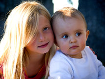 Sisters portrait Royalty Free Stock Images
