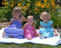 Sisters six Royalty Free Stock Photos