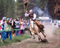 2014 Sisters Stampede Mountain Bike Race Royalty Free Stock Photos