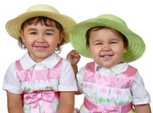 Sisters together Royalty Free Stock Photo