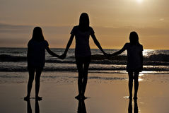 Sisters Unite Royalty Free Stock Photo