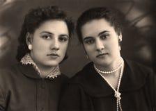 Sisters. Stock Photos
