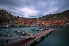 Sistiana Triest (Italien) Portopiccolo Stockfotos