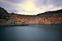 Sistiana Triest (Italien) Portopiccolo Lizenzfreies Stockbild