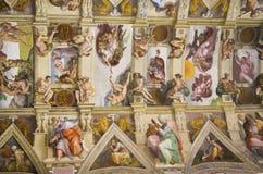 The Sistine Chapel detail Stock Image