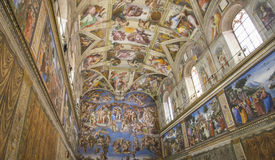 The Sistine Chapel Royalty Free Stock Image