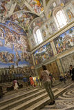 The Sistine Chapel Stock Images