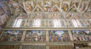 The Sistine Chapel Stock Photos