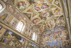 The Sistine Chapel Stock Photo