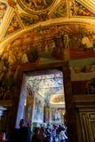 Sistine kapell (Cappella Sistina) - Vaticanen, Roma - Italien Royaltyfria Bilder