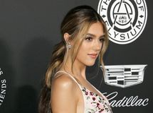 Sistine Stallone. At the Art Of Elysium`s 11th Annual Heaven Celebration held at the Barker Hangar in Santa Monica, USA on January 6, 2018 Stock Photography