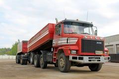 Sisu SR300 8x2二次冷却器常规耐用卡车 库存图片