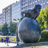 Sisyphus à Paris Image stock