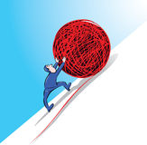 Sisyphus Illustration Libre de Droits