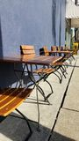 Sit back and chill in the sun. Sit back chill sun neworleans royalty free stock photo