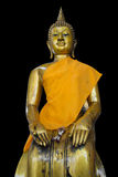 Sit buddha. Buddha from thailand in isolate Stock Photos