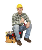 Sit handyman Stock Images
