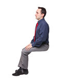 Sit man Stock Images