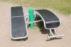 Sit Up Bench Equipment Imágenes de archivo libres de regalías
