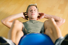 Sit-ups Royalty Free Stock Images