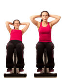 Sit Ups Stock Images