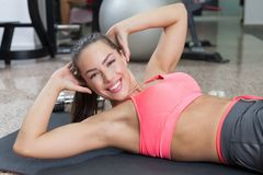 Sit-ups Stock Images