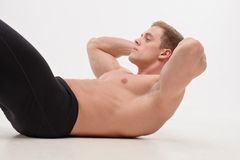 Sit-ups Stock Photography