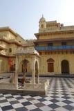 Sita Ram寺庙庭院 免版税库存照片