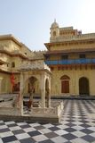 Sita Ram Temple Courtyard Foto de Stock Royalty Free