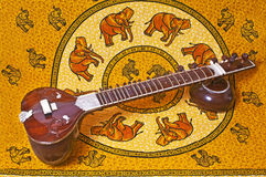 Sitar Royalty Free Stock Image