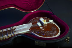 Sitar, a String Traditional Indian Musical Instrument Royalty Free Stock Photography